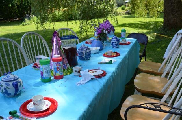 Tea Party for Princesses.